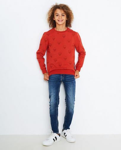 Sweater mit Stickerei